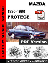 mazda protege 1989 1994 repair service manual pdf