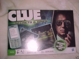 CLUE SECRETS AND SPIES BRAND NEW GAME - $26.99