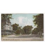Main Street Lancaster White Mountains New Hampshire 1908 postcard - $6.44