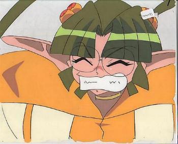 """Tenshi ni Narumon """"Ruka"""" Anime Cel (0001)"""