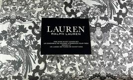Ralp Lauren Tamarind Birds Toile 3Pc King Duvet Set Gray, Black & White ... - $138.59