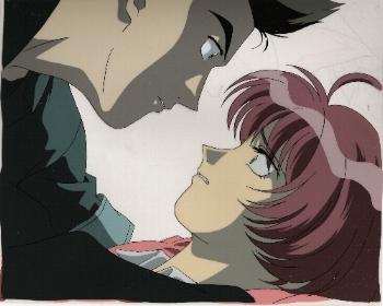 "Neo Ranga ""Ushio & Guy"" Anime Cel * NEORANGA (0033)"
