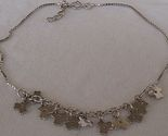 Flowers charms anklet thumb155 crop