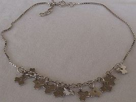 Flowers charms anklet thumb200