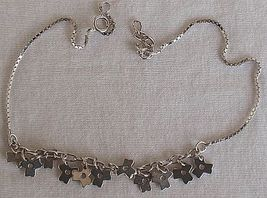 Flowers charms anklet 2 thumb200