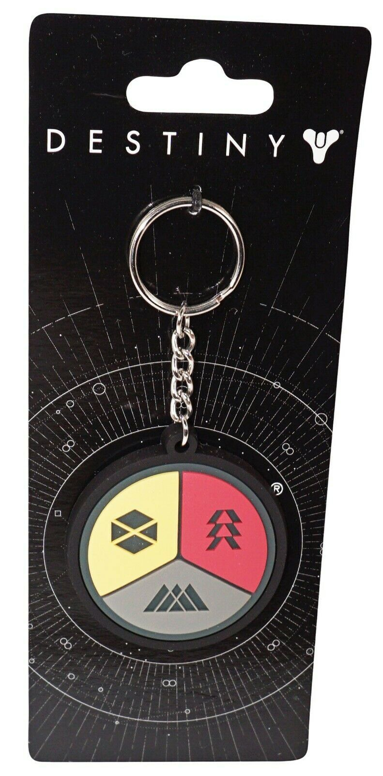 Primary image for DESTINY 2 GUARDIANS - BADGE GAMER FAN KEYCHAIN NEW 2017 - STYLE #1