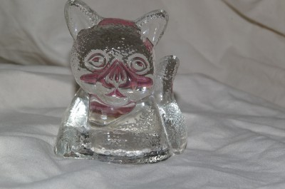 Partylite Cat Kitten Tealite Holder RETIRED Party Lite