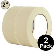"1InTheOffice General Purpose Masking Tape 2 inch x 60.1-Yards, 3"" Core, 2/Pack"