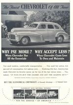 1942 Chevrolet Special Deluxe Sport Sedan car print ad - $10.00