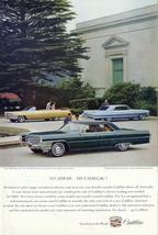Cadillac 1965 Sedan de Ville 1964 Convert 1962 Coupe print ad - $10.00