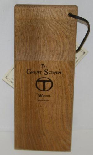 Thompson Brothers and Company Woody The Original Great Scraper Wood Barbecue
