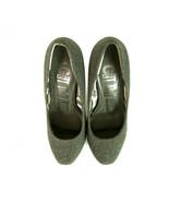 Next Gray Tweed Platform High Heel Pumps Shoes size UK 6, Eur 39 - $55.42