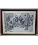 Custom Made Picture of Men Talking by A. B. Fro... - $61.73