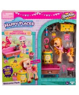 Shopkins Happy Places Pampered Pony Stable Play Set with Poni Crumbles - $19.88