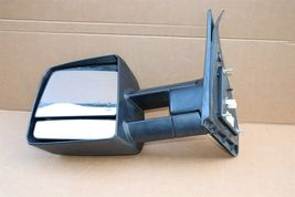 07-13 Toyota Tundra Heated Power Door Tow Towing Mirror W/ Signal Driver Left LH image 4