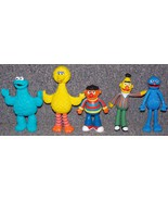 Jim Henson Sesame Street Lot Of 5 PVC Figures b... - $44.99