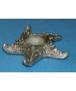 Starfish Tea Light Molded Candle Holders 1 pair NEW - $9.99