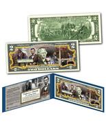 ABRAHAM LINCOLN American Civil War Commander-in-Chief Genuine US $2 Bill... - $292,08 MXN