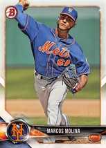 2018 Bowman Prospects #BP35 Marcos Molina NM-MT Mets - $0.99