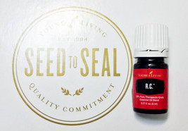 Young Living Essential Oils RC 5ml New Never Opened ready to ship R.C. s... - $14.99