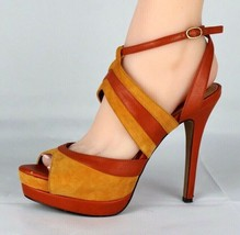 Jessica Simpson Eman Femmes Talon Sandales Plateforme Taille de la Boucl... - $23.66