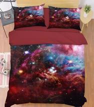 3D Color Stars 2 Bed Pillowcases Quilt Duvet Cover Set Single Queen King... - $64.32+