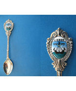 LISBON Portugal Souvenir Collector Spoon LISBOA PORTUGUESE Ship Collectible - $6.95