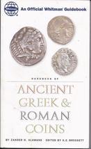ANCIENT GREEK & ROMAN COINS An Official Whitman Guidebook - ZANDER KLAWANS - $7.95