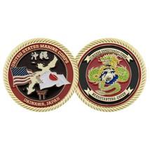 "USMC MHG OKINAWA  MARINE CORPS 1.75""  CHALLENGE COIN - $16.24"