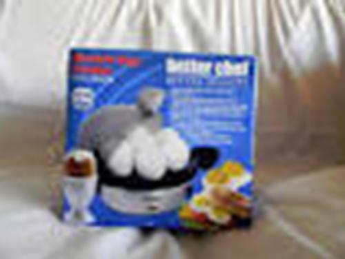 Breakfast Kitchen Electric Pressure Alert Poacher Water 1- 7 Eggs Minutes Cooker