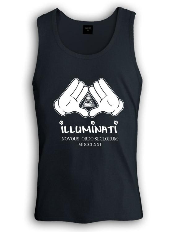 ILLUMINATI HANDS Singlet DISOBEY Tank 23 JAY DOPE YOLO MICKEY Kanya Diamond Gang