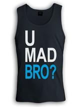 U Mad Bro Singlet Jersey Shore Guido Cool Story Slang Gang Urban Tank To... - €16,94 EUR