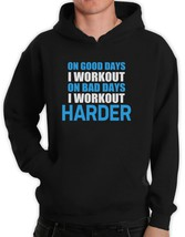 Work Out Harder Hoodie Bodybuilding Gym exercise Best Workout Motivation - $26.99+