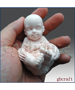 3D Silicone Soap Mold-Baby having fun(2 parts assembled mold) - Free Shi... - $28.00