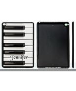 PERSONALIZED RUBBER CASE FOR iPad Air 1 2 Mini 1 2 3 4 PIANO KEYS - $15.98