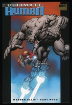 Ultimate Human Hardcover HC HB Marvel Hulk Iron Man Warren Ellis Cary No... - $25.00