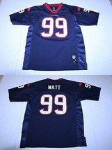 Youth Houston Texans J.J. Watt L (14/16) Jersey (Navy Blue) NFL Team App... - $37.39