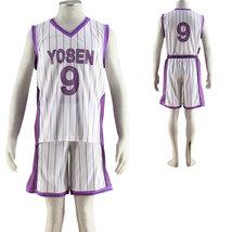 Kuroko's Basketball Murasakibara Atsushi Yosen Team Uniform Cosplay - $47.59