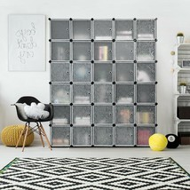 DIY 30 Cube Portable Closet Clothes Wardrobe Cabinet - €204,27 EUR