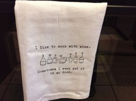 The Best Message Kitchen Gift Towel  Made in USA by Hand image 9