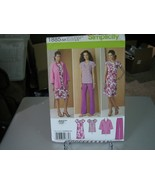 Simplicity 1885 Pullover Dress or Tunic, Jacket & Pants Pattern - Size 1... - $6.92