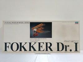 Hasegawa 1/8 Fokker Dr.I W.W.I. Garman Fighter Model Kit Museum Model Se... - $791.98