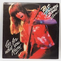 Vintage Pat Travers Band...Live! Go For What You Know Vinyl Record Album - $4.94