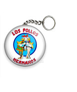 LOS POLLOS HERMANOS BREAKING BAD FUNNY QUOTE KEYCHAIN KEY FOB RING CHAIN... - $7.19+