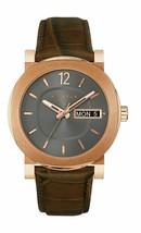 Wittnauer Men's Quartz Leather Crocodile Brown Band 42mm Watch WN1002 - $113.85