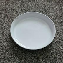 French White Corningware Round Quiche Dish F3B - $19.99