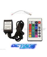 24 Key 16 Color IR Remote Control Controller SMD RGB LED Strip 12V 4-Hea... - $12.95