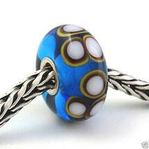 Authentic Trollbeads Ooak Murano Glass Unique Bead Charm #62 New - $34.91