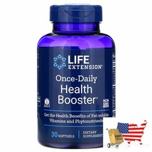 Health Booster Life Extension Once Daily Health Booster 30 Softgels Health Boost - $40.46