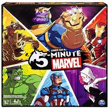 Spin Master Games 5 Minute Marvel Cooperative Card Game for Kids Aged 8 ... - $24.49